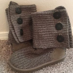 UGG Classic Cardy Knitted Boots